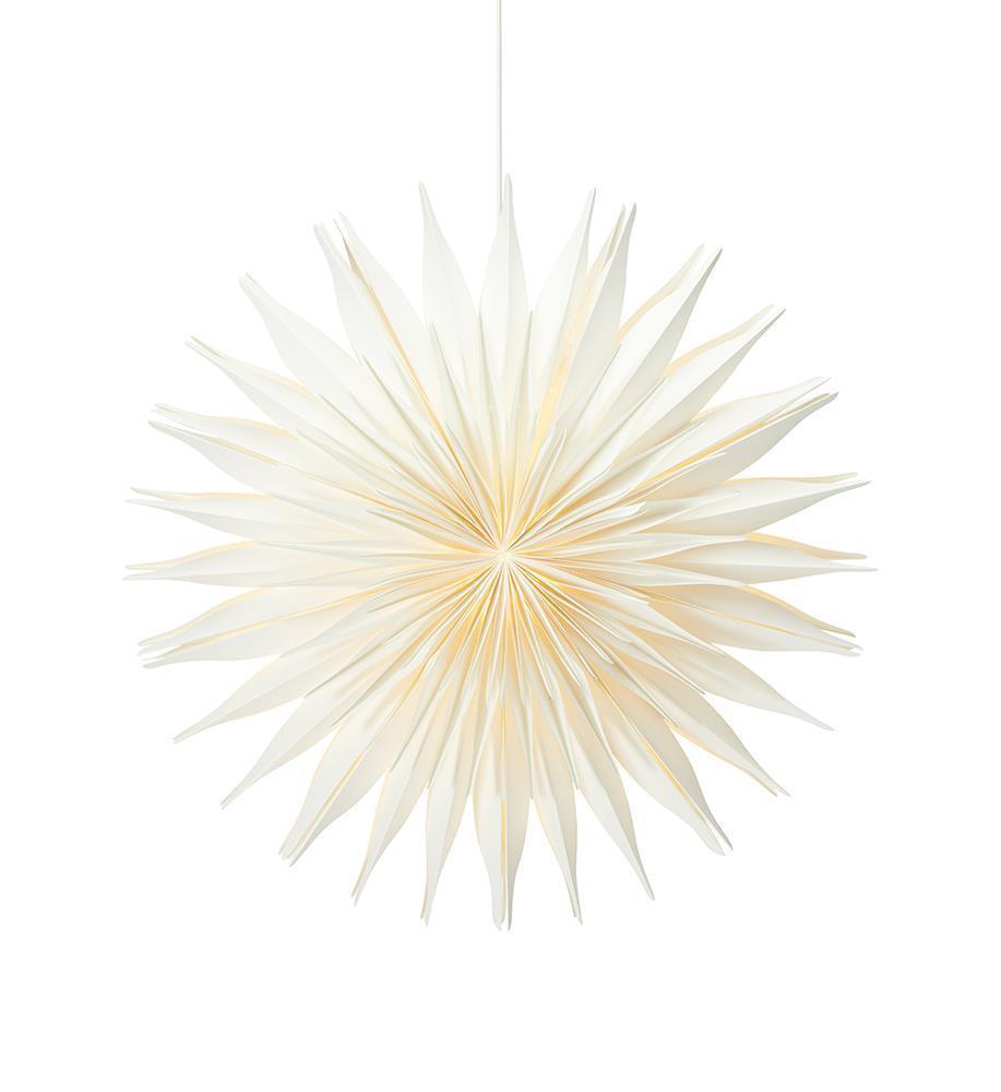 Lovisa papierowa gwiazda 60cm biała