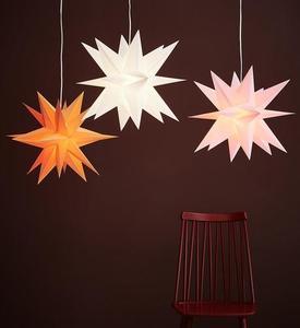 Skillinge 3D papierowa gwiazda Różowy small 1