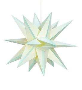 Skillinge 3D papierowa gwiazda wisiorek Lightblue small 1