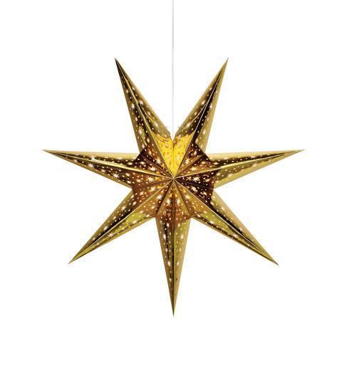 NANNA papierowa gwiazda 75 cm złota