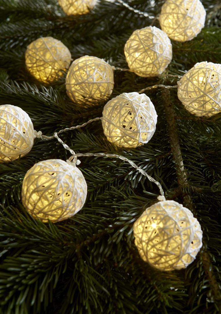 SIA Lekki łańcuch 10L Ball LED