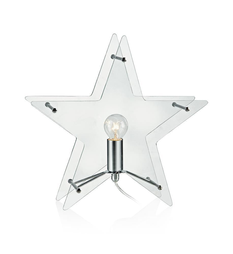 KLANG Tabledeco Szklana Gwiazda E14 Wyczyść