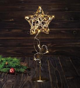 HAGABERG dekoracji stołu 45cm Złoty small 0