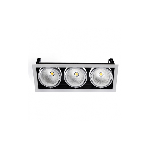 Modern-Day 3x1led Cob Citizen 40st 700ma 3x27w Ip20 Ww Downlight
