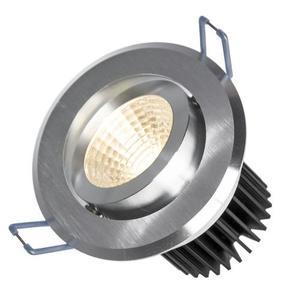 Fiale Ii 6w Cob 38st 230v Cw Oczko Led Pierścień Szczotkowane Aluminium small 0
