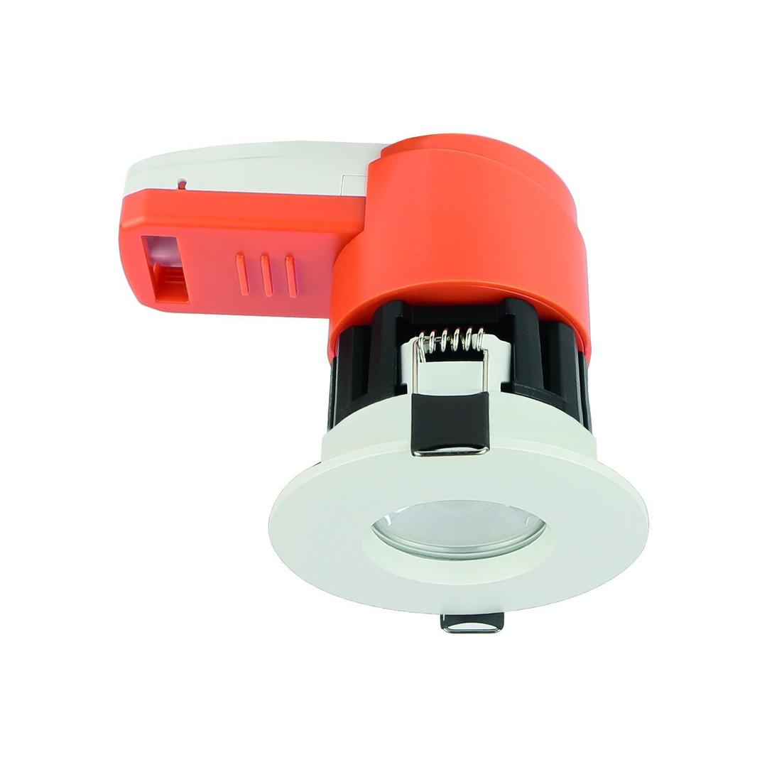 Ignis 8w Cct Cw/Nw/Ww Ip65 Fire Rated              White Ring