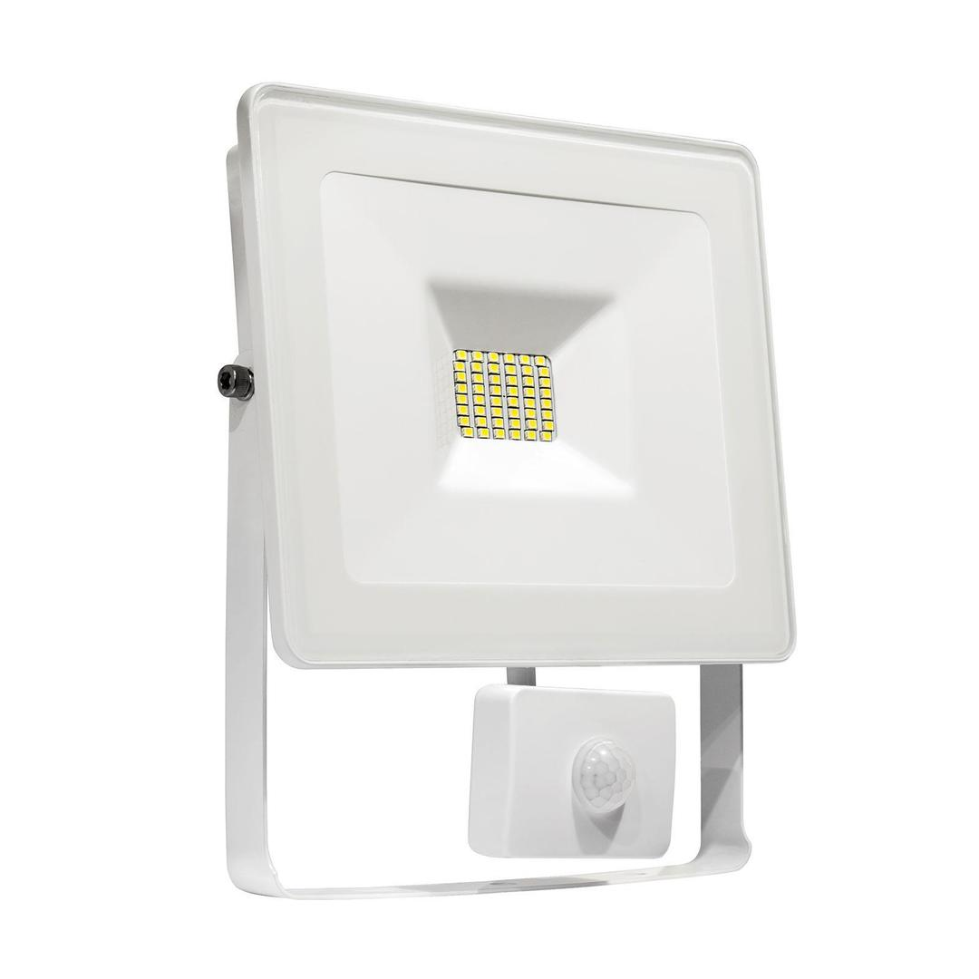 Noctis Lux Smd 120st 230v 20w Ip44 Cw Wallwasher White With Sensor