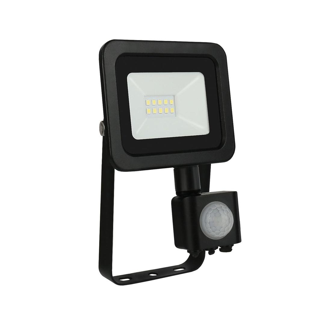 Noctis Lux 2 Smd 230v 10w Ip44 Nw Black With Sensor