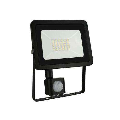 Noctis Lux 2 Smd 230v 20w Ip44 Cw Black With Sensor