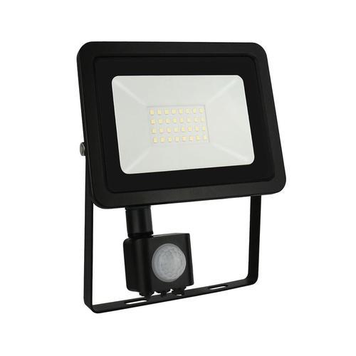 Noctis Lux 2 Smd 230v 30w Ip44 Cw Black With Sensor