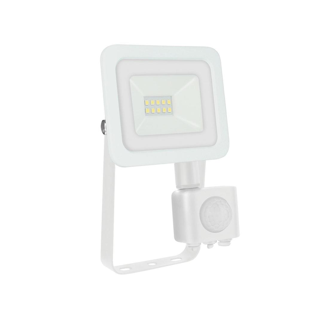 Noctis Lux 2 Smd 230v 10w Ip44 Nw White With Sensor
