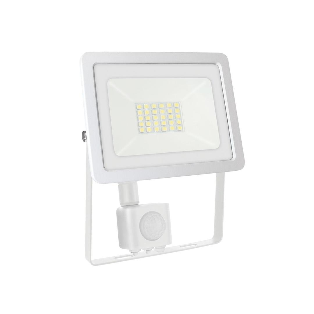 Noctis Lux 2 Smd 230v 20w Ip44 Nw White With Sensor
