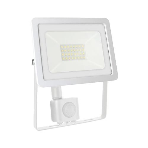 Noctis Lux 2 Smd 230v 30w Ip44 Nw White With Sensor
