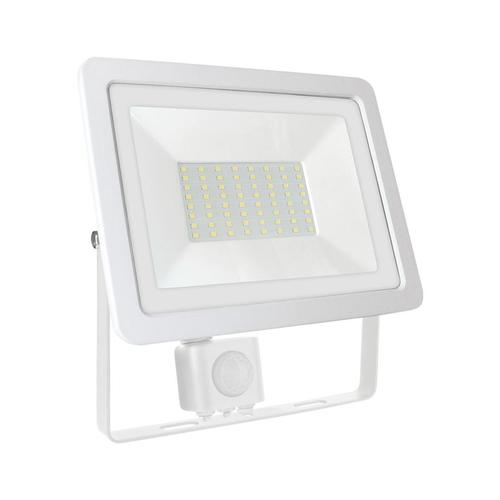 Noctis Lux 2 Smd 230v 50w Ip44 Nw White With Sensor