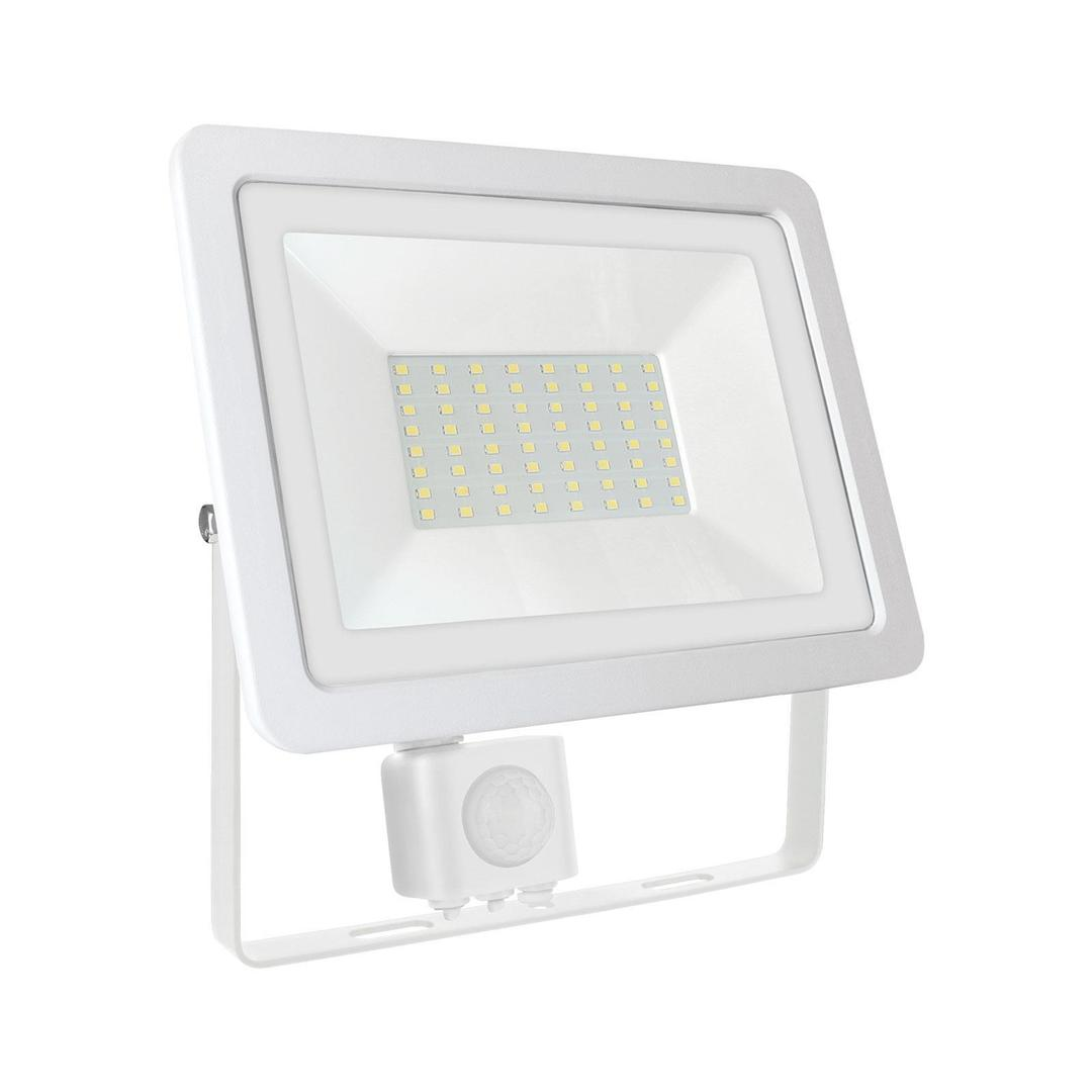 Noctis Lux 2 Smd 230v 50w Ip44 Ww White With Sensor