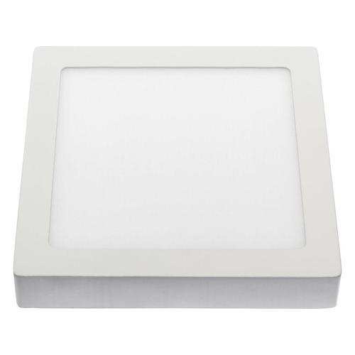 Algine Eco Led Square 230v 12w Ip20 Cw Sufitowe Biała Ramka Natynkowa