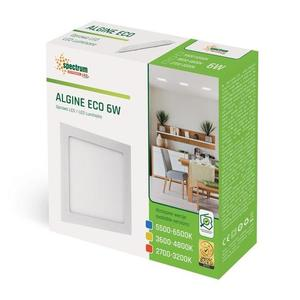 Algine Eco Led Square 230v 6w Ip20 Ww Oprawa Podtynkowa small 1