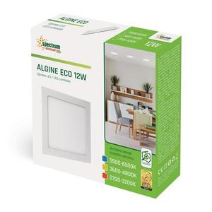 Algine Eco Led Square 230v 12w Ip20 Ww Oprawa Podtynkowa small 1