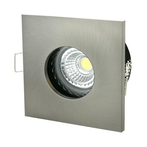 Fiale Iv Gu10 Square Silver Ip65