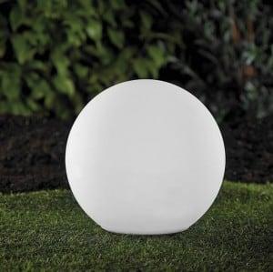 Kula ogrodowa solarna i USB 34cm LED kolorowa, wodoodporna small 9