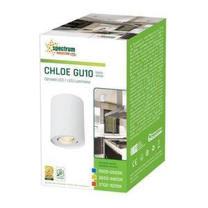 Chloe Gu10 Ip20 Okrągła Biała Oczko Regulowane small 2