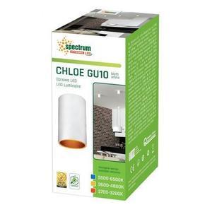 Chloe Gu10 Ip20 Tuba Biała Złota Oczko Nieregulowane small 2