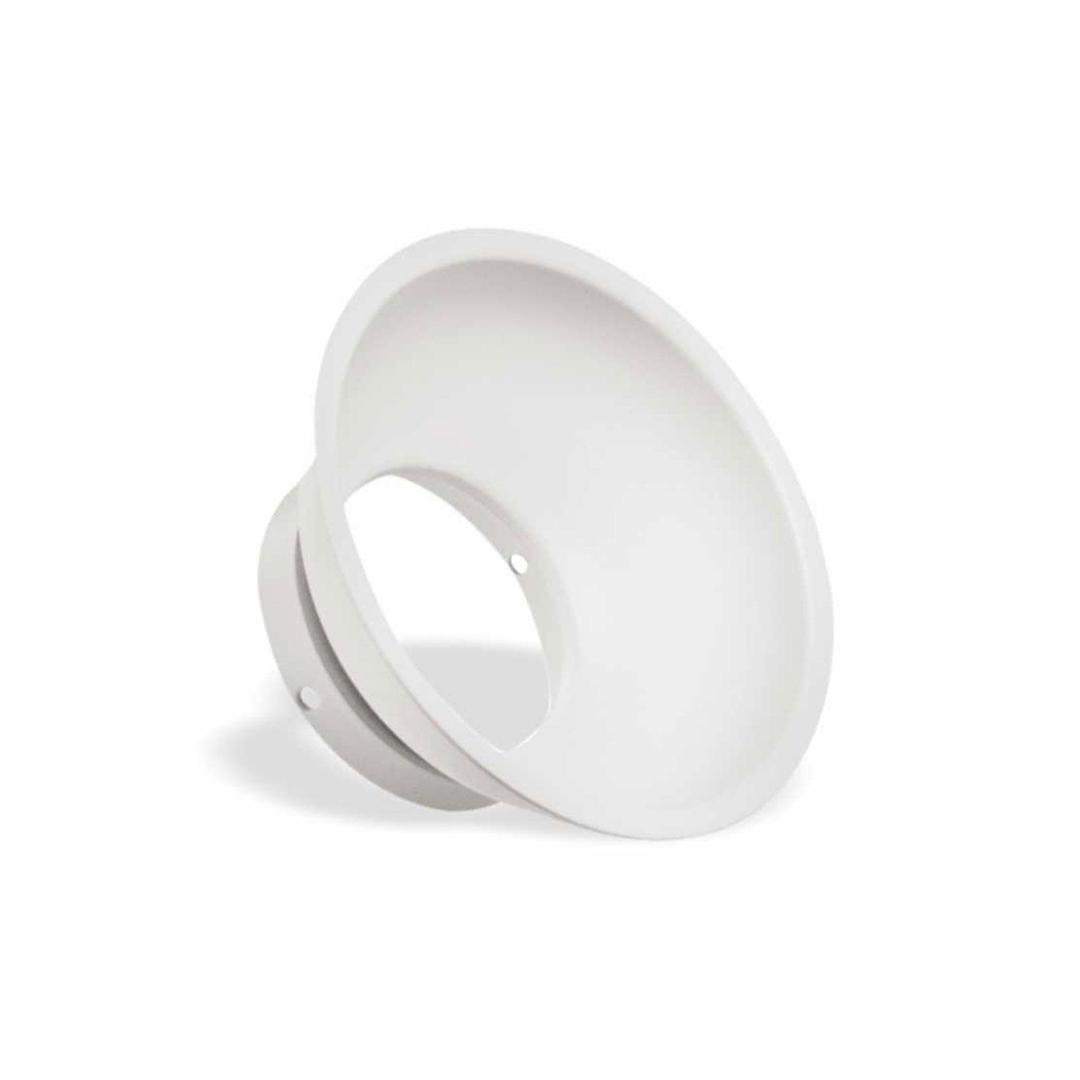 Elemento Round Reflectors White