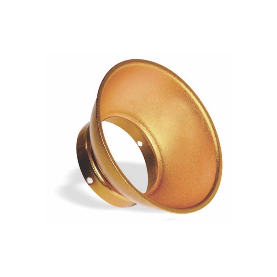 Elemento Round Reflectors Gold