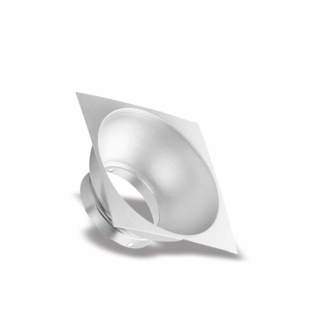 Elemento Square Reflectors Silver