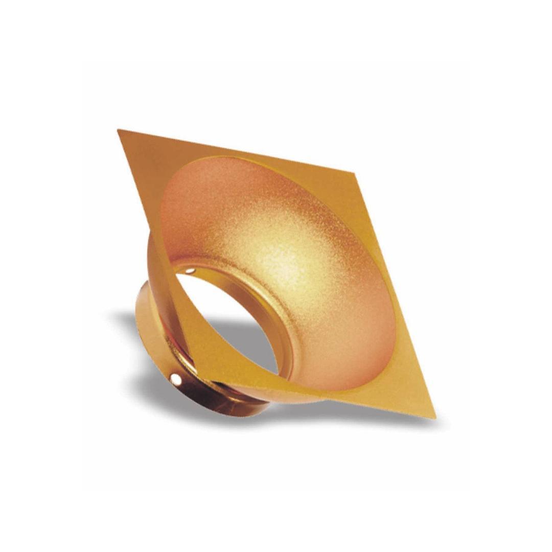 Elemento Square Reflectors Gold