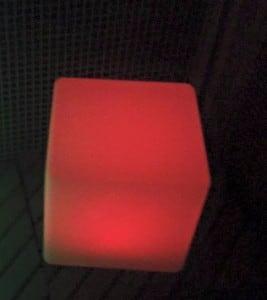 Wodoodporna Lampa Ogrodowa Solarna LED Sześcian small 7