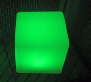 Wodoodporna Lampa Ogrodowa Solarna LED kostka small 5