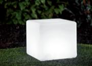 Wodoodporna Lampa Ogrodowa Solarna LED kostka small 6