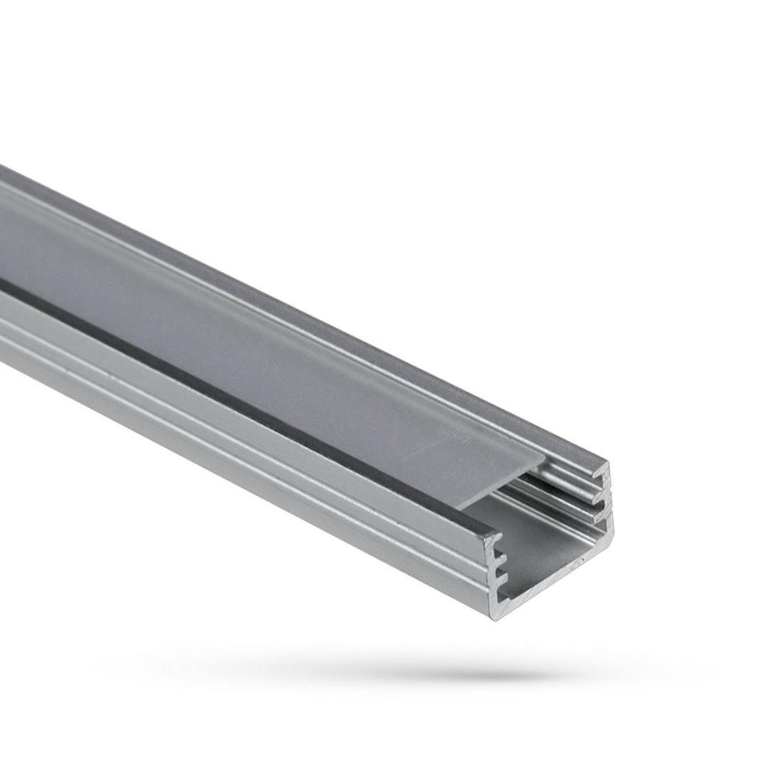 Profil Aluminiowy Wojslim Z Osłoną Mleczną 1mb Klosz A