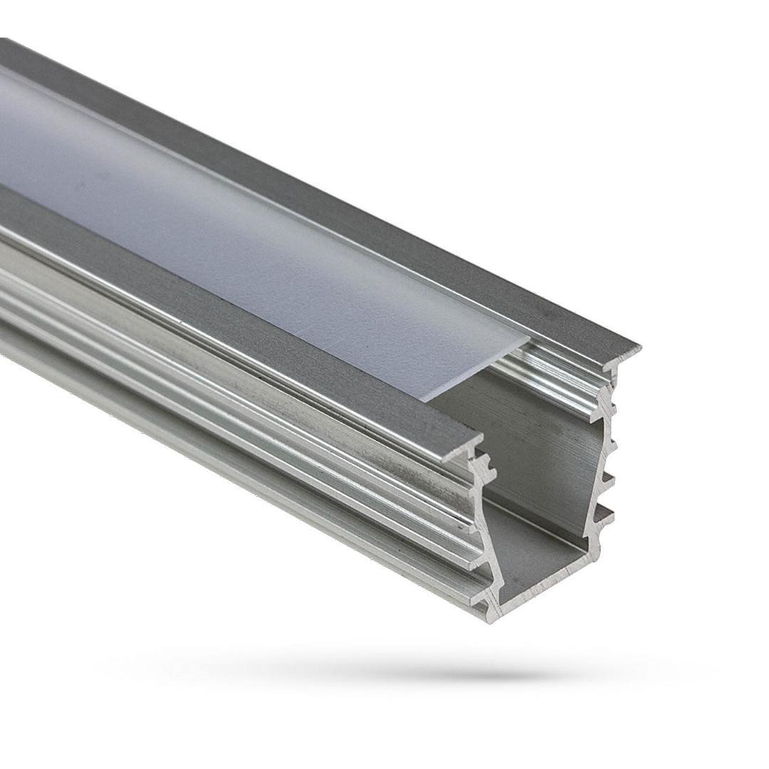 Profil Aluminiowy Wojdeep Z Osłoną Mleczną 1mb Klosz B