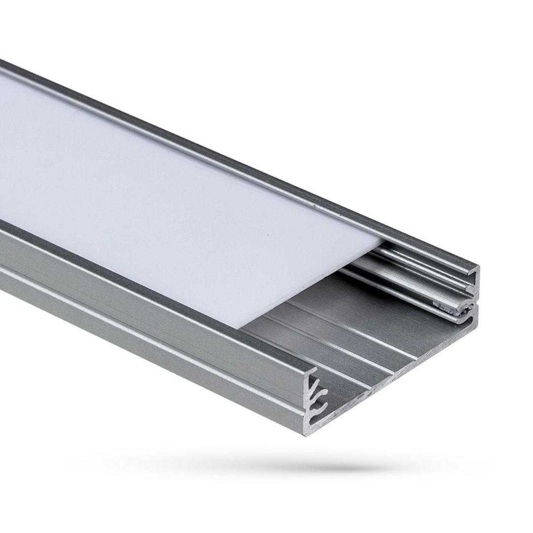 Profil Aluminiowy Wojwide Z Osłoną Transparentna 1mb Klosz G