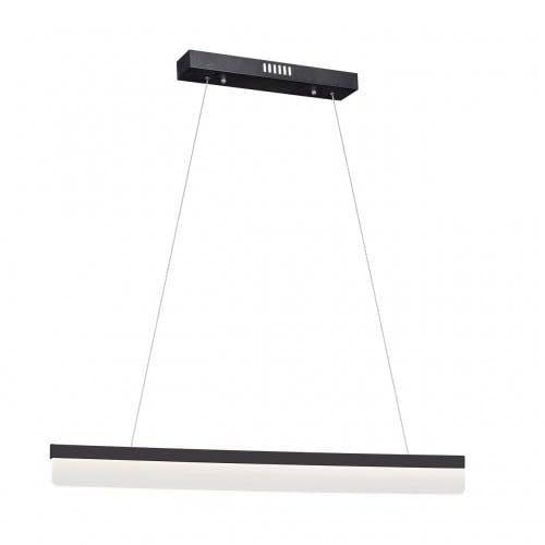 Nowoczesna Czarna Lampa wisząca Milagro BEAM 400 18W 1260 lm