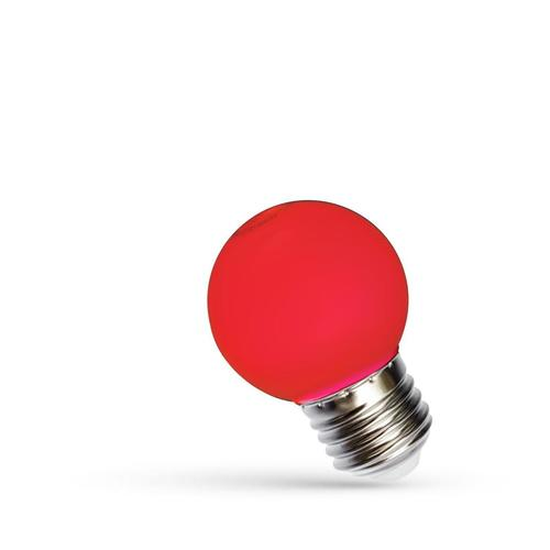 Led Kulka E-27 230v 1w Red Spectrum