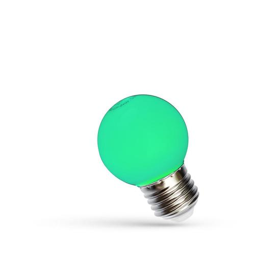 Led Kulka E-27 230v 1w Green Spectrum