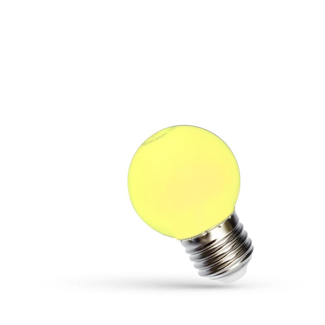 Led Kulka E-27 230v 1w Yellow Spectrum