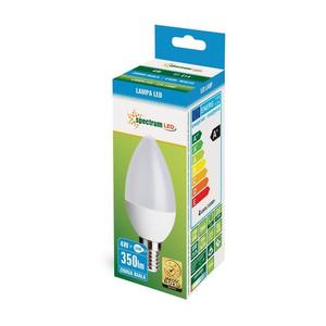 Led Świecowa E-14 230v 4w Cw Spectrum small 2