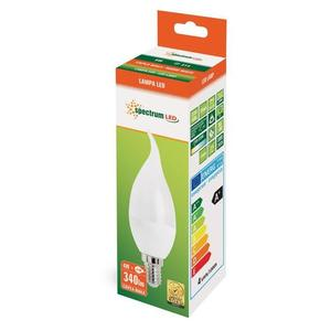 Led Świecowa Deco E-14 230v 4w Ww Spectrum small 1