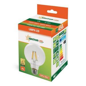 Led Glob G95 Cog E-27 230v 4w Ww Clear Spectrum small 2