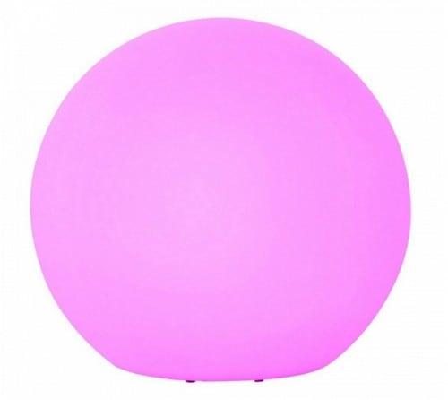 Duża kula ogrodowa zmieniająca kolor z pilotem 77 cm średnica, 1x3W LED RGB 2