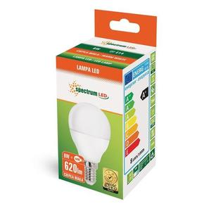 Led Kulka  E-14 230v 8w Ww Spectrum small 2