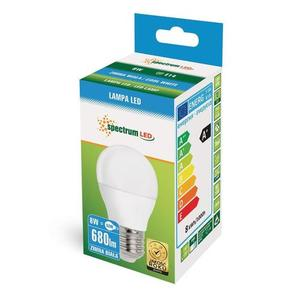 Led Kulka  E-27 230v 8w Cw Spectrum small 2