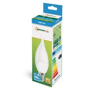 Led Świecowa Deco E-14 230v 8w Cw Spectrum small 1
