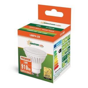 Led Gu10 230v 10w Smd Ww Ceramiczna Premium Spectrum small 2
