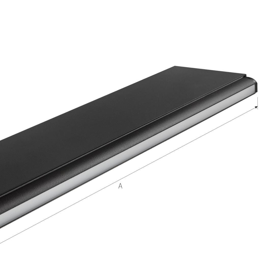 Allday Asymmetric 840 80w 230v 170cm 110st Black