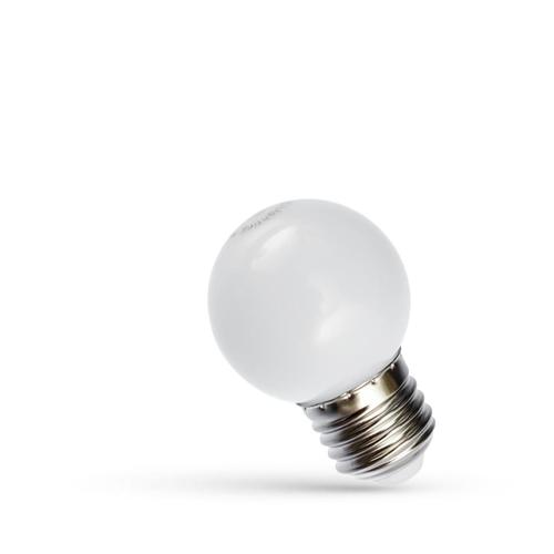 Led Kulka E-27 230v 1w White Spectrum